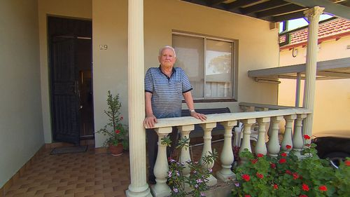 His property is being compulsory acquired by the New South Wales government to make way for the new western metro.