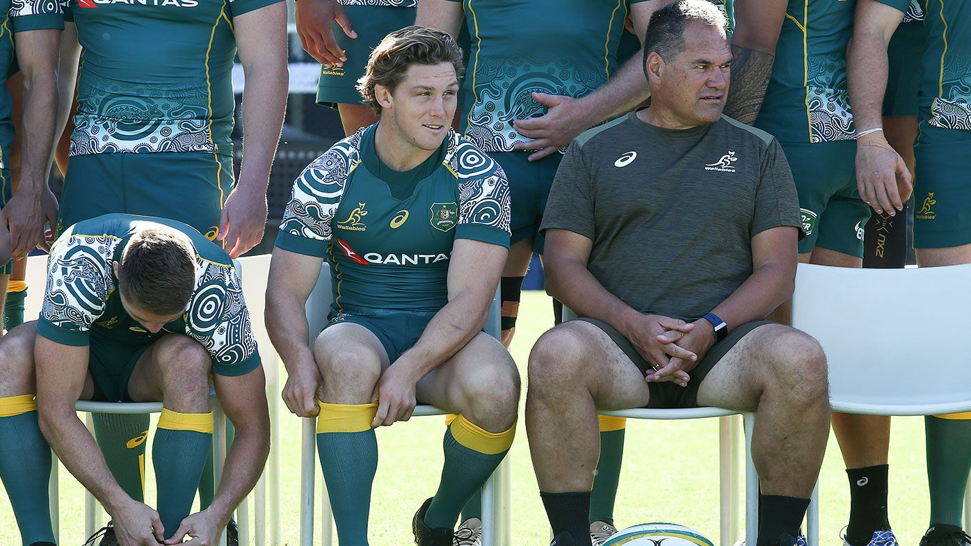 Wallabies camp a 'shock to the body', says Andy Muirhead
