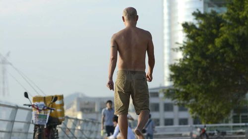 In the Chinese city of Tianjin, authorities are cracking down on male toplessness.