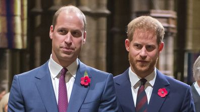 Tension between Harry and William at the middle of the royal rift