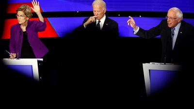 A debate between Democratic candidates