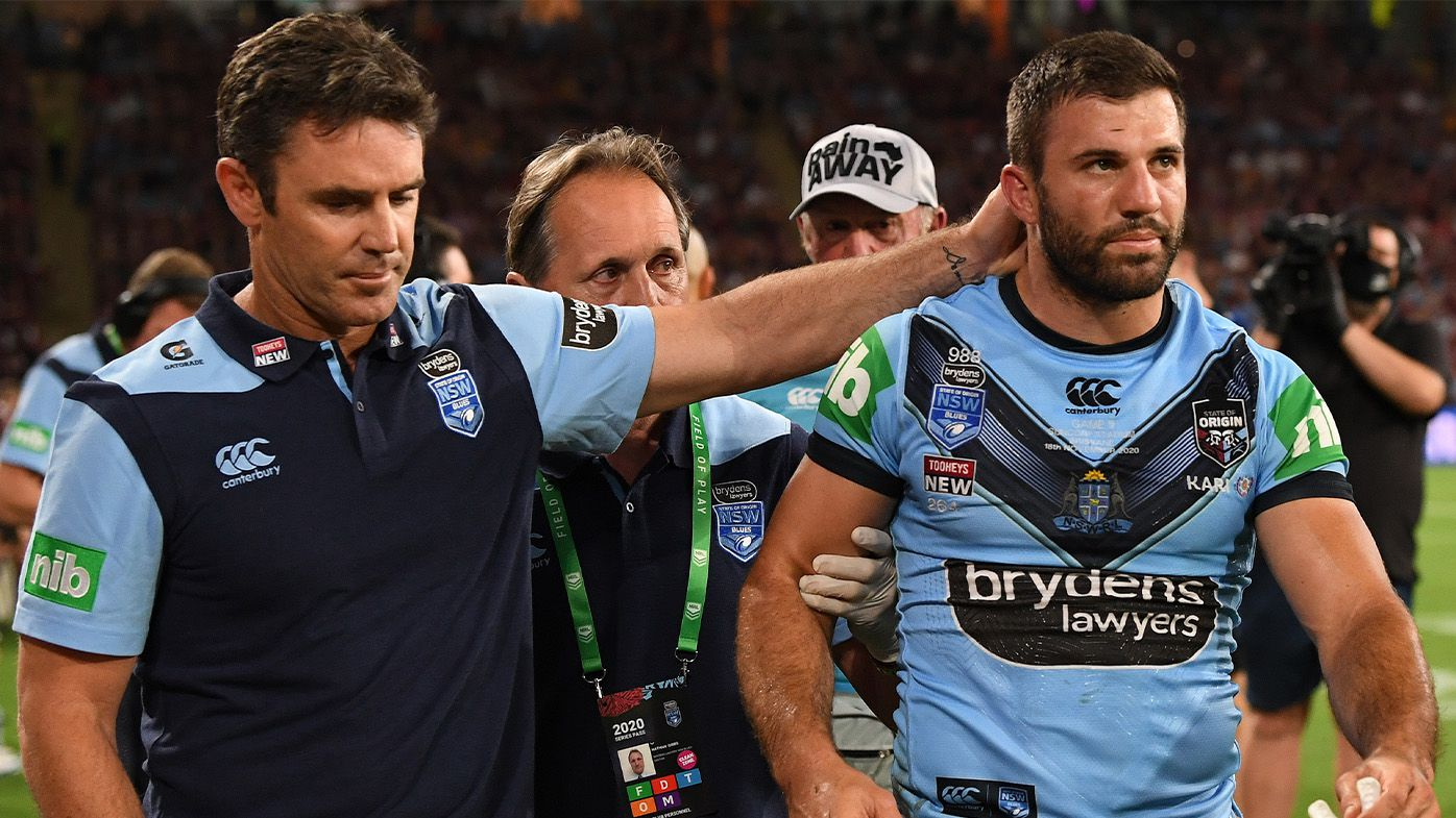 Crushing James Tedesco injury blow in 2020 decider behind Brad Fittler's thinking in picking Blues team