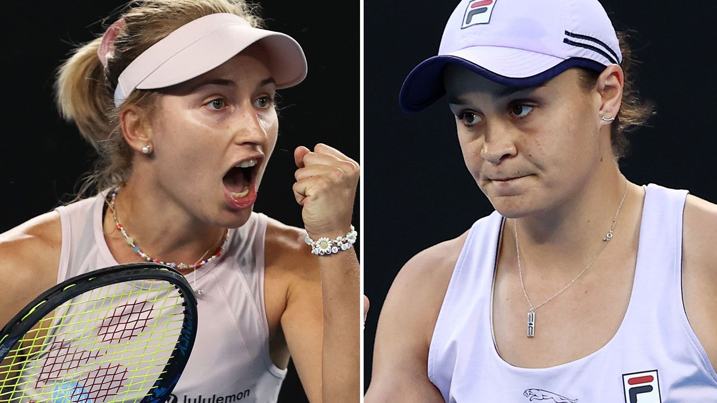 Daria Gavrilova will clash with Ash Barty. (Getty)