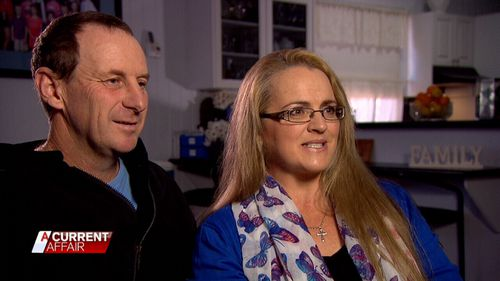 Ray and Jeni Bonell have one of Australia's biggest families - but recently had a health scare.