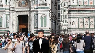 In Duomo, Florence (Instagram).