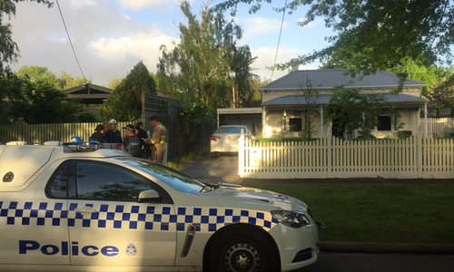 The body of the 25-year-old was discovered in the home.