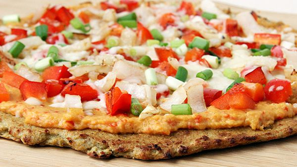 Atkins cauliflower crust pizza