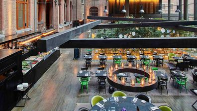 Conservatorium Hotel restaurant
