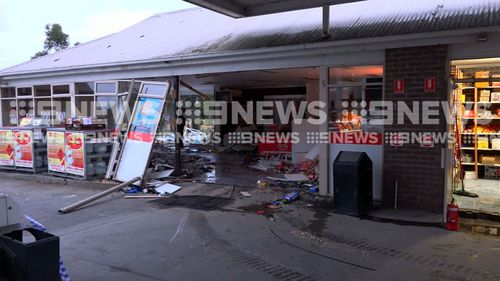 Police are still searching for the people responsible. (9NEWS Exclusive)