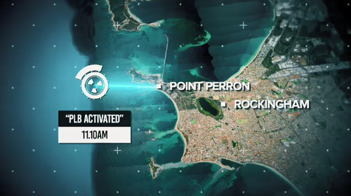 Stephen Angel vanished off Point Peron on April 5. (9News)