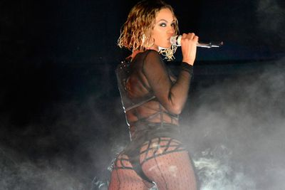 Bey is for booty! And she's got a fine one at that...