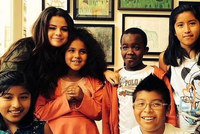 @selenagomez: @heartoflosangeles you do amazing things for the children of Los Angeles. Thank you for letting me stop by!