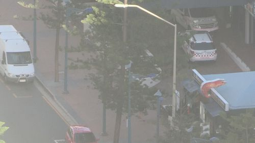 A man has been arrested in Surfers Paradise. (9NEWS)