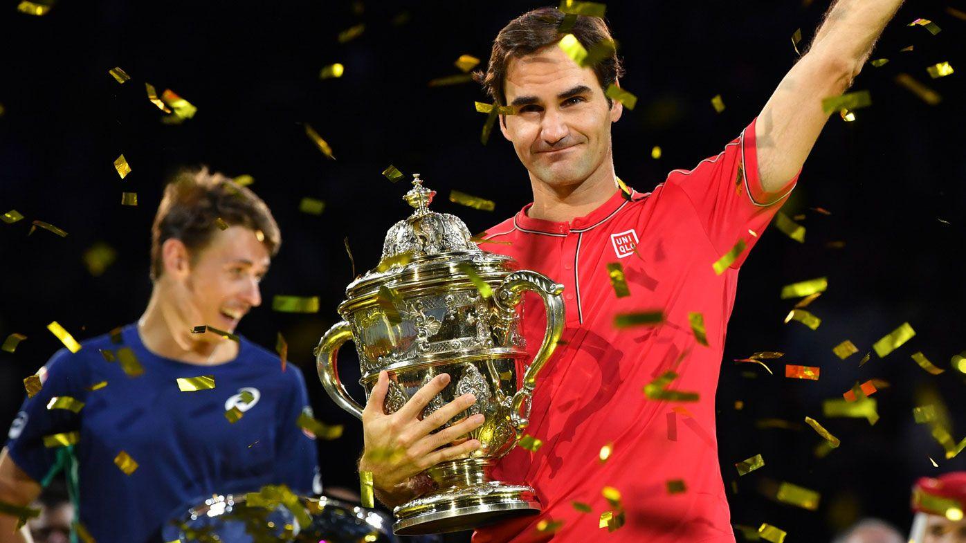 Roger Federer schools Alex de Minaur in Basel for title No.103, praises Aussie