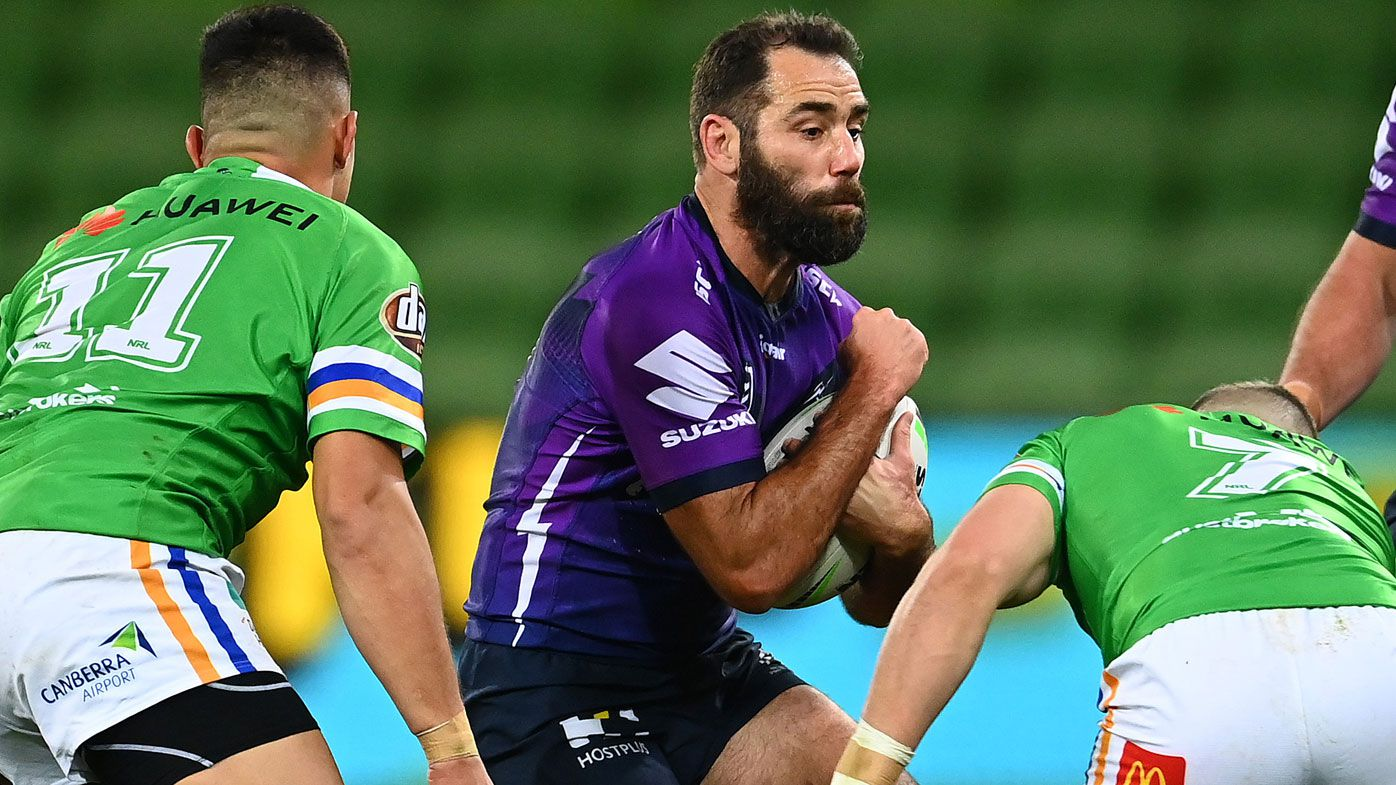 Melbourne Storm must adapt to faster game, admits Cameron Smith after Raiders hiding