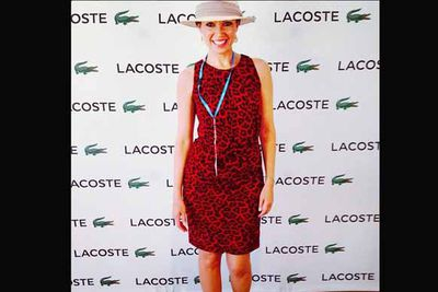 "@danniiminogue: ""#iLoveMelbourne #australiaday #Lacoste"""