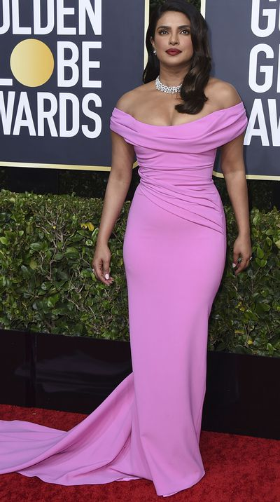 Priyanka Chopra at the 2020 Golden Globes.