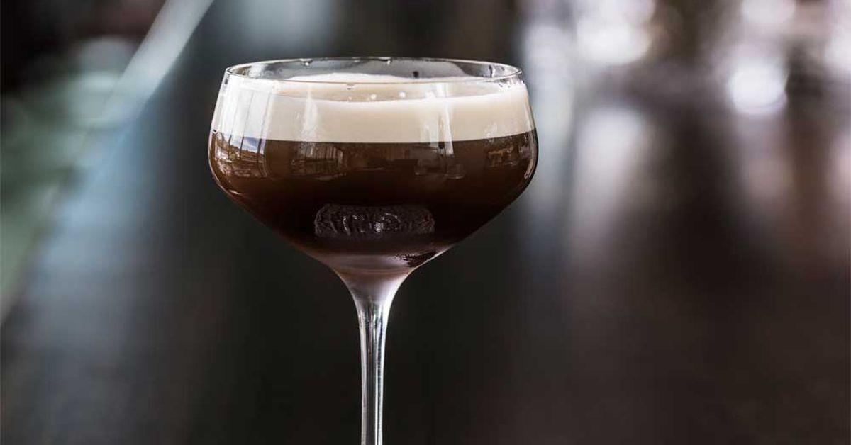 Salted Coconut Espresso Martini 9kitchen
