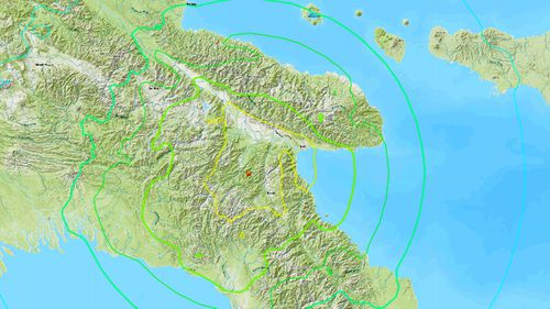 Impact of powerful Papua New Guinea earthquake felt in Queensland
