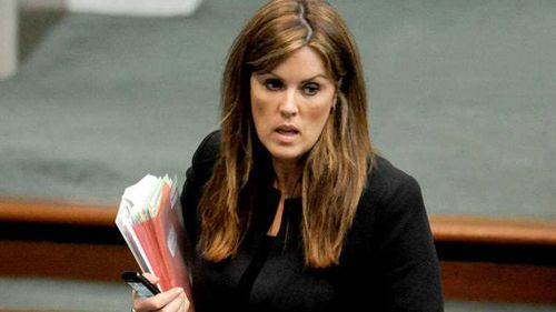 Peta Credlin, Chief of Staff for Prime Minister Tony Abbott took second place. (AAP)