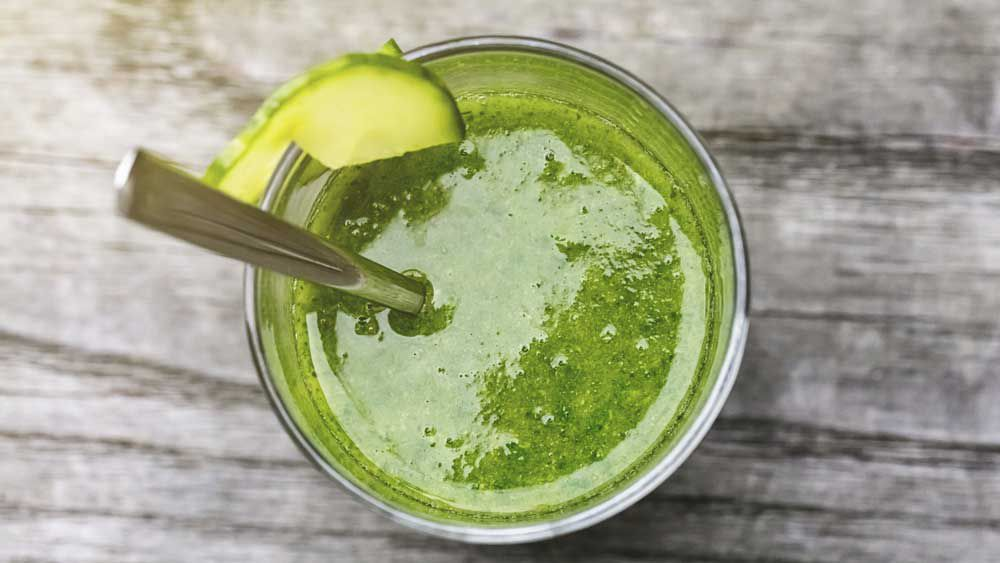 Green juice for winter. Image: iStock