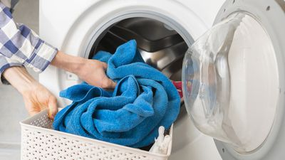 Dry clothes fast with a towel