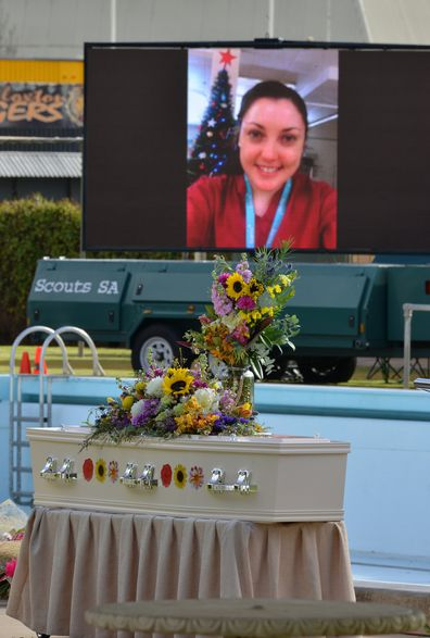Funeral of Kirsty Boden.