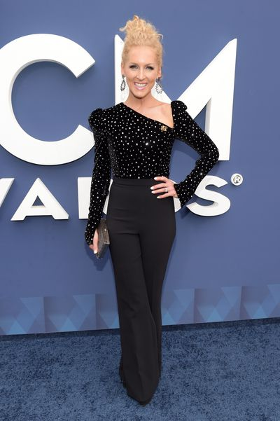 Kimberly Schlapman of Little Big Town in Christian Siriano