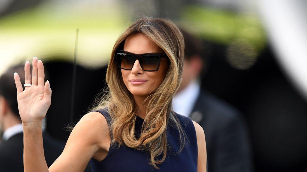 FLOTUS Melania Trump. Image: Getty