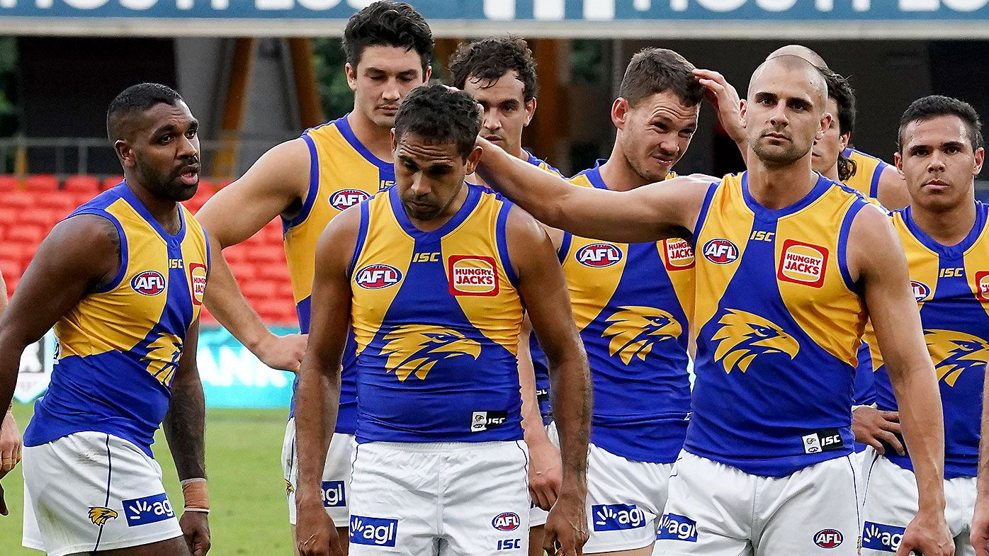 Adam Simpson confirms West Coast will be forced into two-week quarantine if it loses final against Collingwood