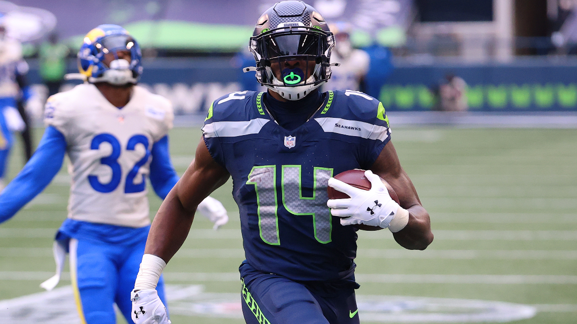 Seattle Seahawks receiver DK Metcalf finishes ninth in 100m heat
