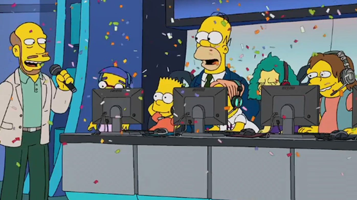 Hit TV show The Simpsons take on Esports in latest episode