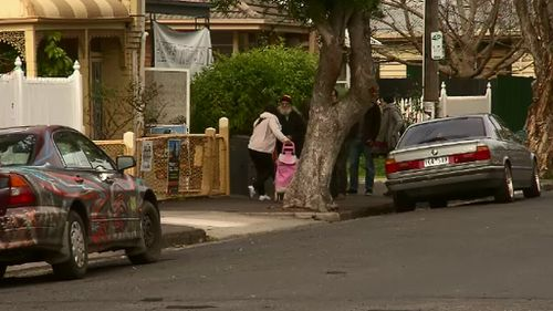 Squatters in Collingwood, Parkville and Clifton Hill have been handed eviction notices. (9NEWS)