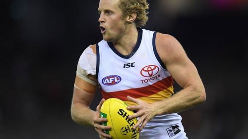 Adelaide Crows star Rory Sloane.