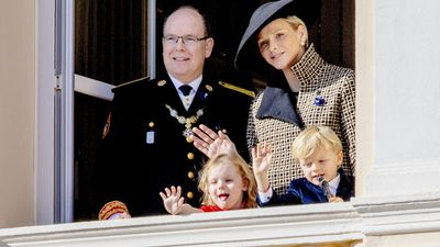 Princess Charlene, Prince Albert II and their children celebrate Monaco National Day, November 2018