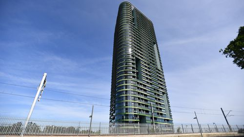 The Opal Tower at Sydney Olympic Park.