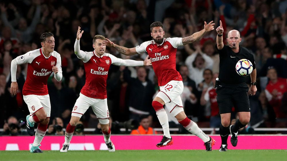 Late goal gives Arsenal EPL thriller win