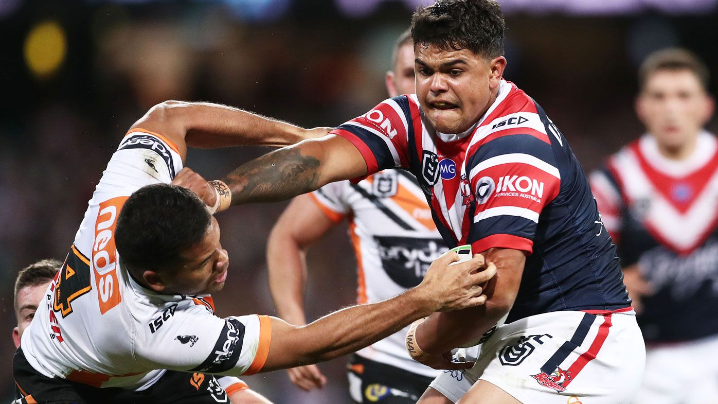 Rival NRL clubs willing to double Latrell Mitchell's Roosters' salary