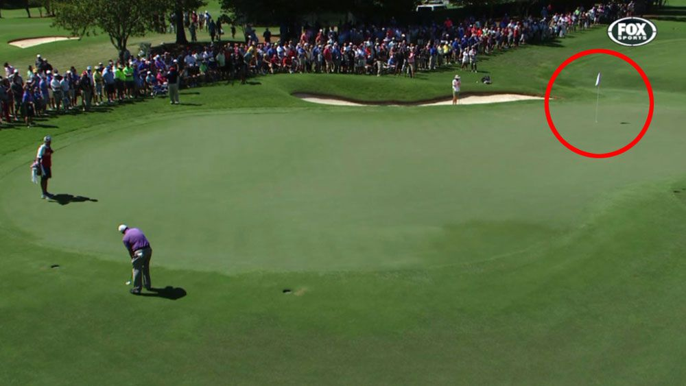 Golf: Mickelson holes monster birdie in Tour Championship