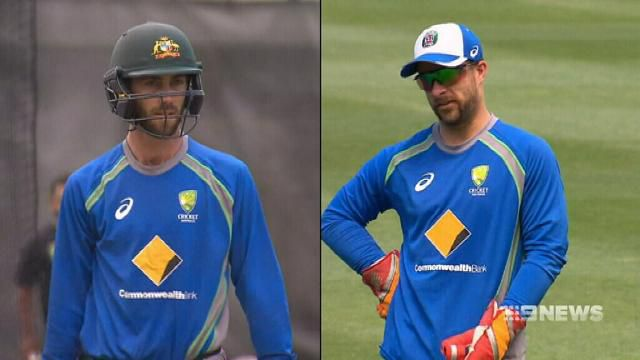 Glenn Maxwell fined for Wade criticism
