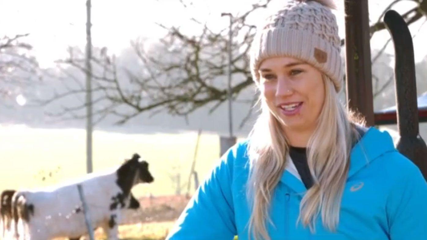 Dairy farmer Kezie Apps eyes NRLW Premiership with Dragons
