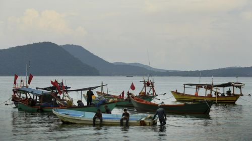 Koh Rong island is a popular tourist destination for travelers around the world.