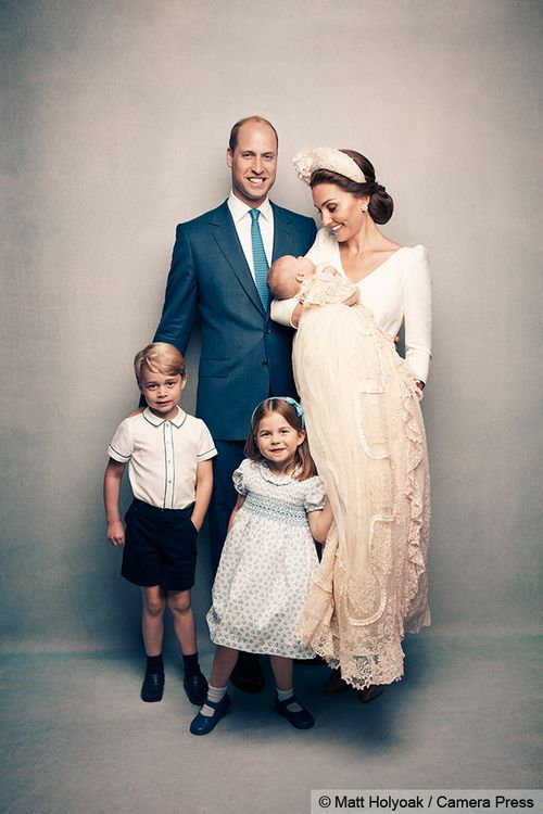 The images capture a relaxed and happy atmosphere and, for the first time, show the Duke and Duchess of Cambridge's family of five. Picture: Matt Holyoak/Camera Press.