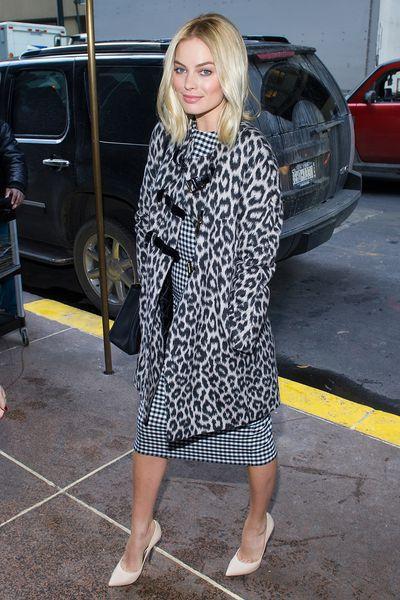 Margot Robbie in New York on December 18, 2013
