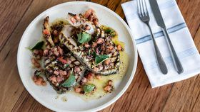 Matt Moran's North Bondi Fish grilled barramundi cutlets