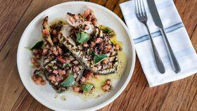 Matt Moran's North Bondi Fish grilled barramundi cutlets