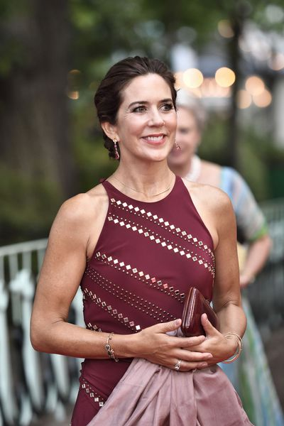 Princess Mary at the Tivoli Gardens, August