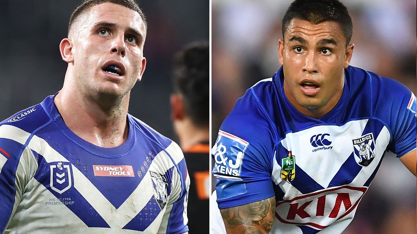 Adam Elliott is of no interest to police but the NRL will inquire as the what transpired with former Bulldogs Michael Lichaa at a private party over the weekend. (Getty)