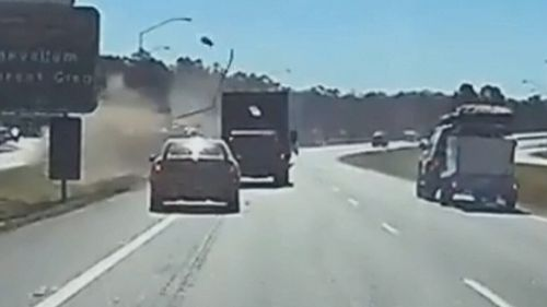 Caravans can also flip on the road, especially for inexperienced drivers.
