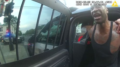 Police body camera shows the final minutes of George Floyd's life